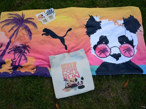 GATHER UP FOR RUN & FUN | DREAMBOAT BEACH TOWEL