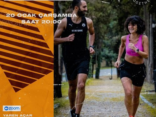 STRONGER TOGETHER #24 CORE WORKOUT with YAREN AÇAR