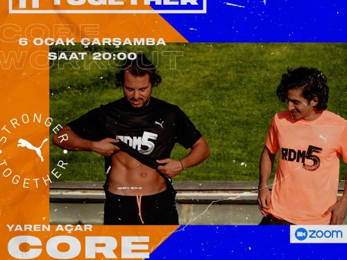 STRONGER TOGETHER #18 CORE WORKOUT with YAREN AÇAR