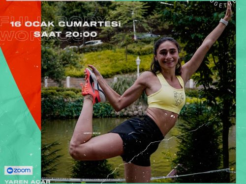 STRONGER TOGETHER #22 FULL BODY WORKOUT with YAREN AÇAR